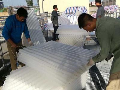 斜管填料焊接